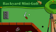 Backyard Mini Golf
