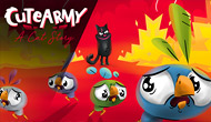 Cute Army : A cat...