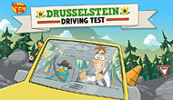 Phineas and Ferb Driving Test