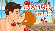 Romantic Beach Kiss