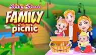 Bébé Hazel : Pique-nique en famille