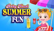 Bébé Hazel : Loisirs d'été