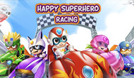 Happy Superhero Racing