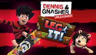 Dennis & Gnasher Unleashed : Leg it!