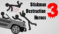Stickman Destruction 3 Heroes