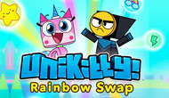 Unikitty Rainbow Swap